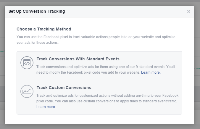 Set up conversion tracking