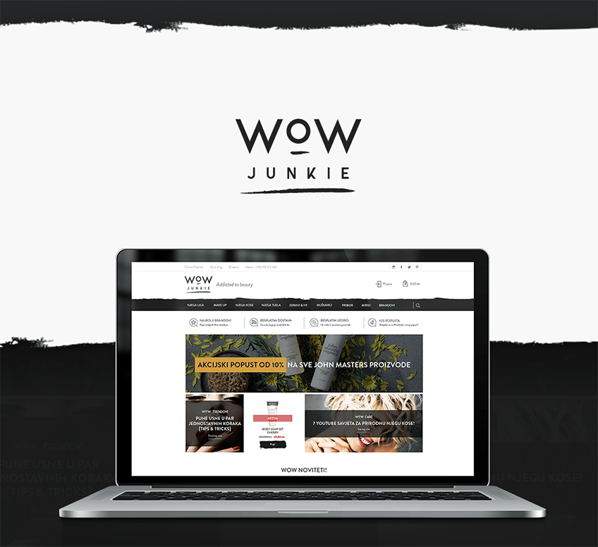 WOW JUNKIE PORTFOLIO DESIGN INSPIRATION